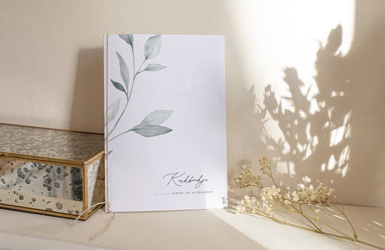 Kerkboek bruiloft