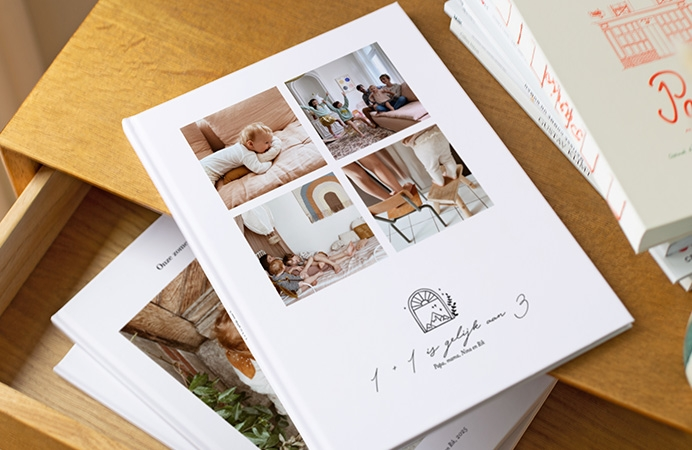 Fotoboek met harde kaft
